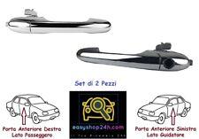 MANIGLIA PORTA ANTERIORE DX EST CROMATA C//CENT FIAT 500 07/> 3P 2007/>