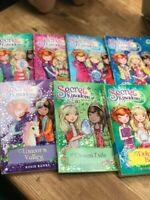 secret kingdom 7 books paperbacks 1 three in one book !
