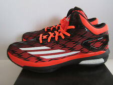 buy online 9f90f 1f2a6 SALE ADIDAS CRAZY LIGHT BOOST SZ 9.5 SOLAR RED BLACK DAME LILLARD C76712