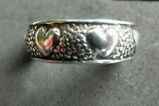 fantastic heart design *strong, sturdy ring* New listing Heart Toe Ring *Bn* Solid Silver,