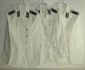 3 Polizei Jacken  Effekten Schulterstücke Faschingsartikel Volkspolizei  gr.48