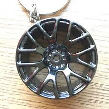 Alufelgen Felgen Schlüsselanhänger mit Bremsscheibe Bremse Metall, Sich Drehend