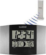 WS-8117U-IT-AL La Crosse Technology Atomic Digital Wall Clock with TX37U-IT NIB