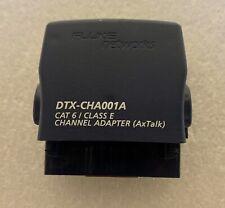 Dtx Cha001a Cat 6 Class E Channel Adapter For Fluke Dtx 1800 Dtx 1200 Axtalk