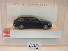 Busch 1/87 Nr. 49650 Audi A6 Avant Kombi dunkelgrün OVP #442