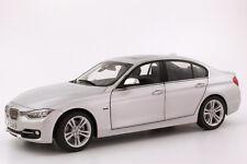 Model Car; BMW 3 Series (F30) Saloon 1:18 scale  Silver  80432212867