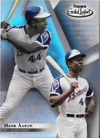 Hank Aaron 2018 Topps Gold Label Class 1 Base Braves #5