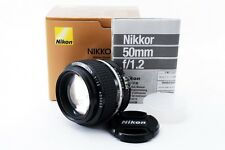 Nikon AI-s NIKKOR 50mm f/1.2 boxed Manual focus lens [Exc+++] from Japan [717]