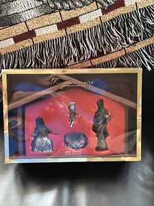 Lenox Nativity Holy Family , Pewter By Kirk Stieff Brand New