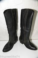 Bottes western cuir noir GOLDEN GOOSE size 40 (UK 6,5) NEUVES/BOITE valeur 755€