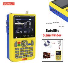 DVB-S/S2 V8 Finder FTA 1080P Digital Satellite Finder SatFinder Meter TFT LCD DE