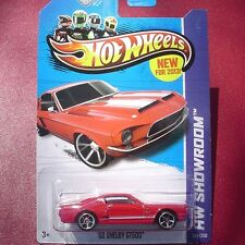 RED. '68 Shelby GT500. HW Showroom.  245/250.  New in Blister Pack!