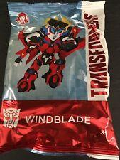 Wendys Kids Meal Toy Hasbro Transformers Windblade 2019 New Sealed Package NIP