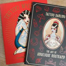 Anelique Houtkamp Tattoo Darling & Tattoo Mystique BUNDLE TATTOO ART Book