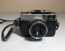 Ricoh 126C Auto CdS 126 Film Camera Rikenon 43mm f2.8 Lens Not Film Tested