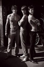 Shirtless Male Frat Guy Hunks In Jeans Boots Cute Guys PHOTO 4X6 Print C104