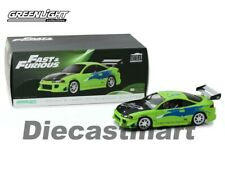 Mitsubishi eclipse Brian Fast and Furious 1/18 Greenlight