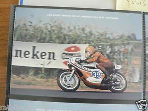 S0315-PHOTO-LEO BOVEE YAMAHA 350 CC HENGELO GLD 1973 NO 39 MOTORPALEIS MOTO GP