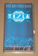 TESLA - FIVE MAN VIDEO BAND - VIDEOCASSETTA VHS