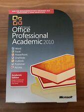 Microsoft Office 2010 Professional / Vollversion / deutsch / Retailbox inkl. DVD