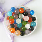 4mm 6mm 8mm 10mm 12mm Mixed Cat Eye Gemstone Loose Ball Round Spacer Beads Charm