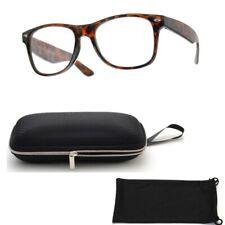 Coffee Brown Retro Classic Fashion Ladies Women Men Reading Glasses Reader +1.50