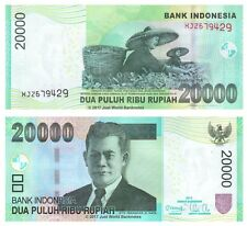 Indonesia 20000 Rupiah 2012 Replacement P-151b(r) Banknotes UNC