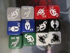 MTG Magic the Gathering Creature Token Dice Set of 12