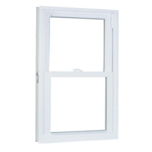 29.75 in. x 41.25 in. 70 Series Pro Double Hung White Vinyl Window with Buc