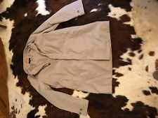 Jack Spade Tan / Khaki Packable Trench Coat XL NWOT MSRP $398