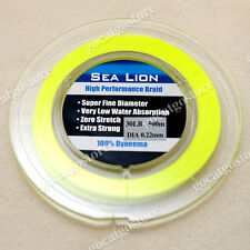 NEW Sea Lion 100% Dyneema Spectra Braid Fishing Line 500M 30lb yellow