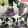 Women Winter Warm Fur Lined Sneakers Trainers Snow Boots Outdoor Sport Trainer