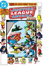 """JUSTICE LEAGUE OF AMERICA #207 COMIC BOOK COVER 11""""x17"""" POSTER PRINT"""