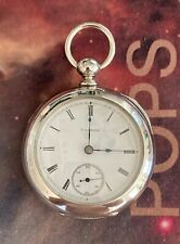 Case Beautiful 141 Yrs Young Pocket Watch New listing