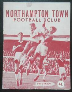 NORTHAMPTON TOWN v PRESTON NORTH END - 1962/63 - League Cup 3rd Round