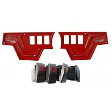 Polaris Rzr Xp 1000 Eps High Lifter Edition UTV Red Dash Plate with switches