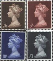 Großbritannien 507-510 (kompl.Ausg.) postfrisch 1968 Königin Elisabeth II.