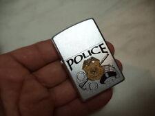 ZIPPO ACCENDINO LIGHTER POLICE VERY RARE NEW