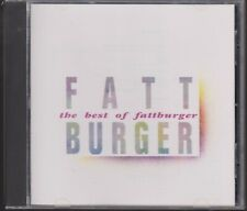 Best of FATTBURGER Manhattan 1992 Early Press CD Steve Laury 80s Greatest Hits