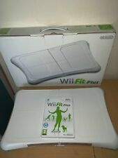 Nintendo Wii-Fit Plus Balance Board Boxed With Wii Fit Plus Game VGC