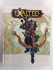 EXALTED RPG PLAYER'S HANDBOOK MANUAL HARDCOVER 2001 WHITE WOLF GAME  WW 8800