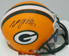 Packers DAVANTE ADAMS Signed Riddell Mini Helmet AUTO - 2014 4th Rnd Pick - BCA