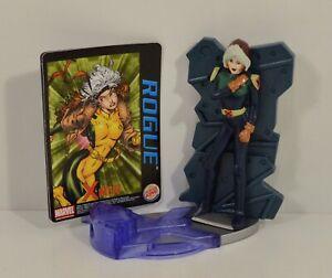 """2001 Rogue Variant 4"""" Burger King EUROPE Action Figure Marvel X-Men Evolution"""