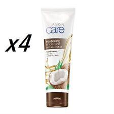 Avon Restoring Moisture with Coconut Oil Hand Cream  X4 *** Free P&P ***