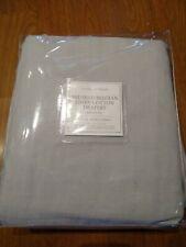"Restoration Hardware brushed Belgian linen cotton, Mist, 50"" x 84"""