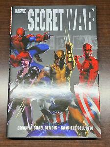 Marvel Secret War Oversized HC - 1st Print 2005 Bendis Dell'Otto Avengers