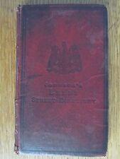 JOHNSON'S LEEDS BOROUGH STREET DIRECTORY RED HARD BACK CIRCA APPROX 1890