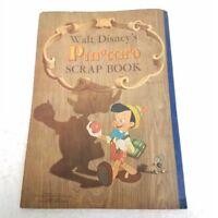 Vintage 1939 Walt Disney Pinochio scrapbook new never used