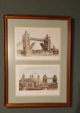 Tower of London and London Bridge Picture 1979 Bernard Smith