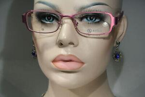 Unique AIGLE AG-4017 Women's Purple Pink Glasses Frames Eyeglasses Made in Japan